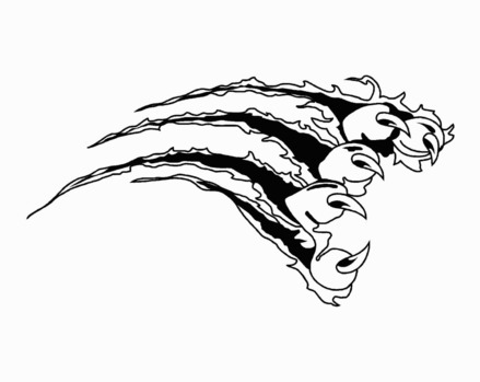 Scratches clipart cougar claw Cps Claws For Go Panther