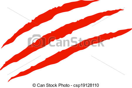 Scratches clipart drawing Csp19128110 Vector scratches Claw