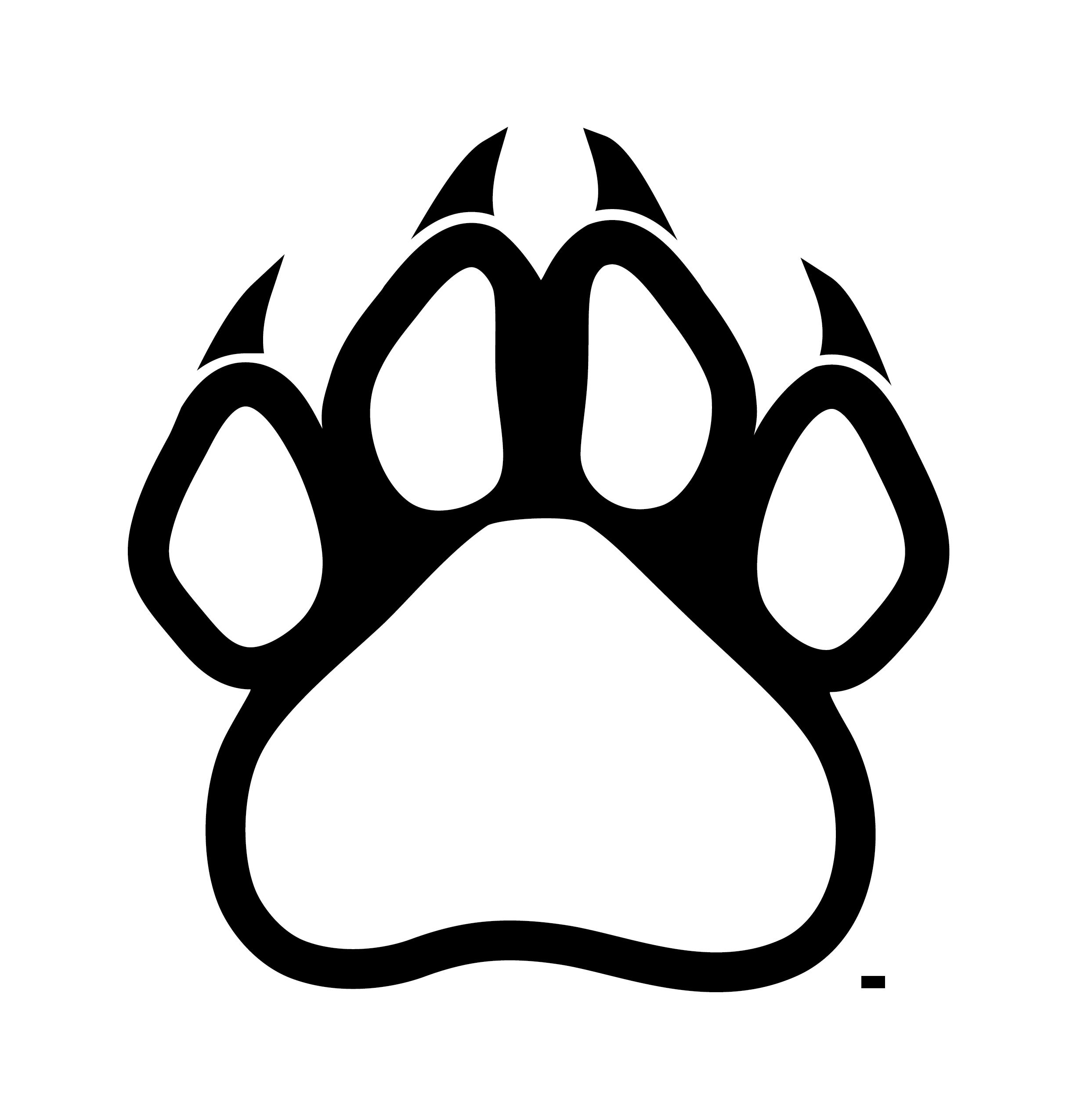 Bobcat clipart lion paw Bear Bear 3 wikiclipart scratch