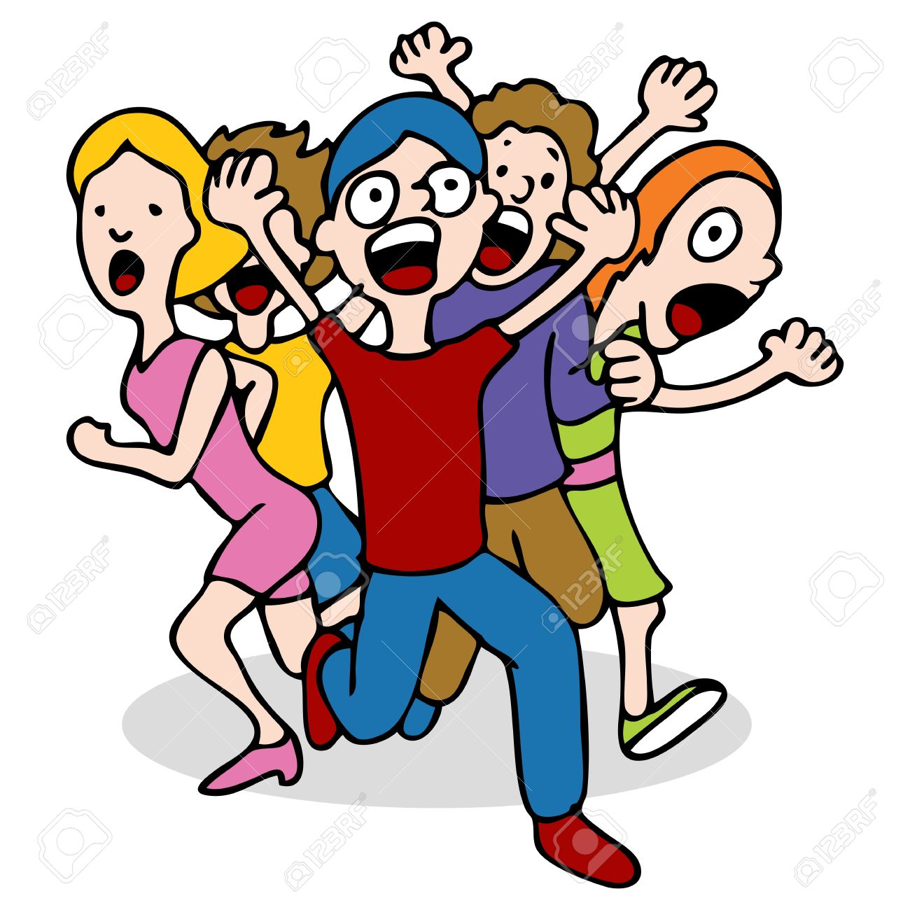 Screaming clipart Clipart People Screaming Download Screaming