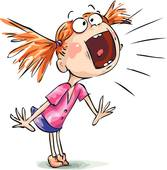 Screaming clipart · Screaming GoGraph Woman Desperate