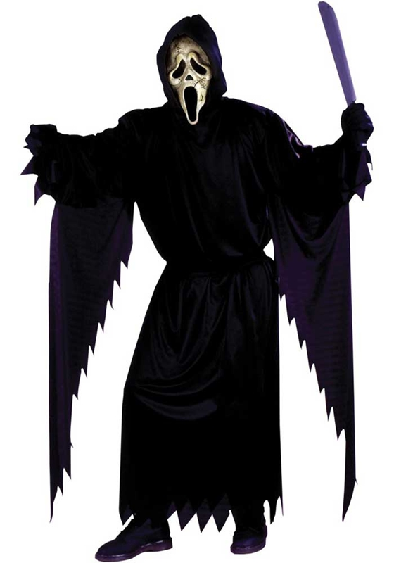 Screaming clipart ghost face TrendyHalloween Ghostface Costumes com