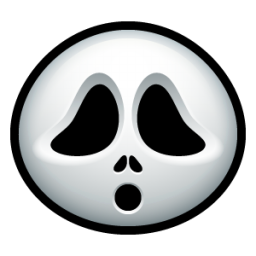 Screaming clipart ghost face Face clipart Ghost Clipart ghostface