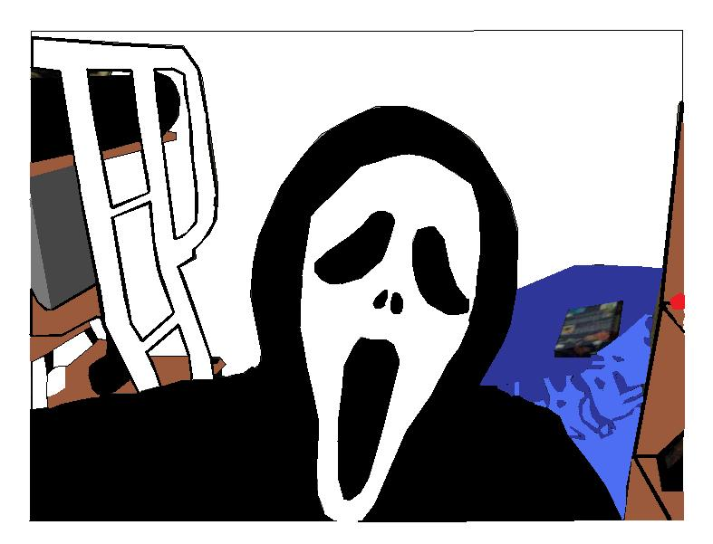 Screaming clipart ghost face Nothingspecial1997 DeviantArt ghostface by nothingspecial1997