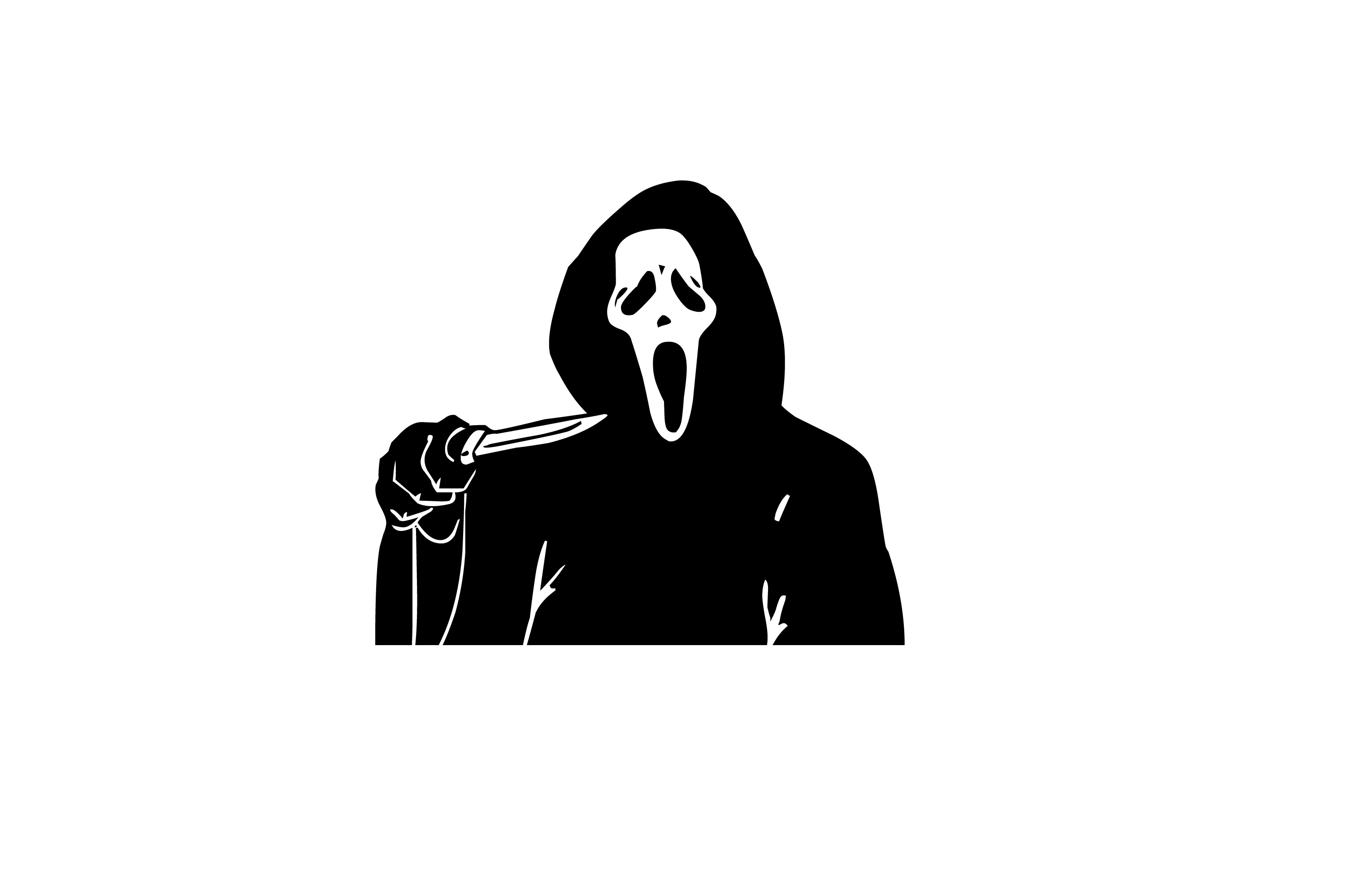 Screaming clipart ghost face Clip Free Clipart Art Art