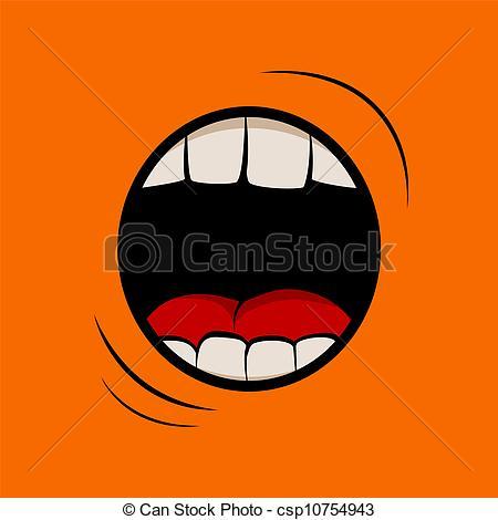 Screaming clipart mouth Mouth  screaming Scream Scream