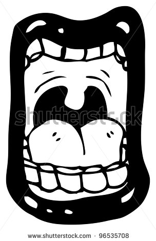 Screaming clipart mouth  Mouth Screaming Clipart