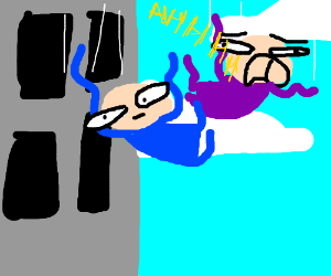 Screaming clipart oh no DID NO! UP is STUCK