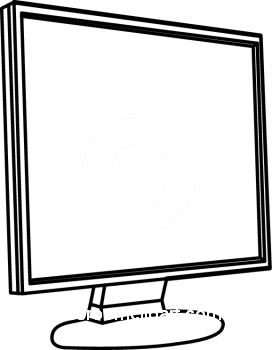 Display clipart black and white : jpg 09_30MBW4 Classroom :