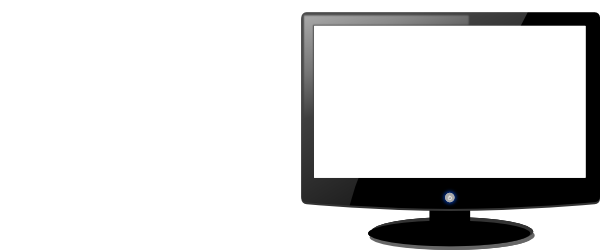 Display clipart laptop screen White Clipart Free Black And