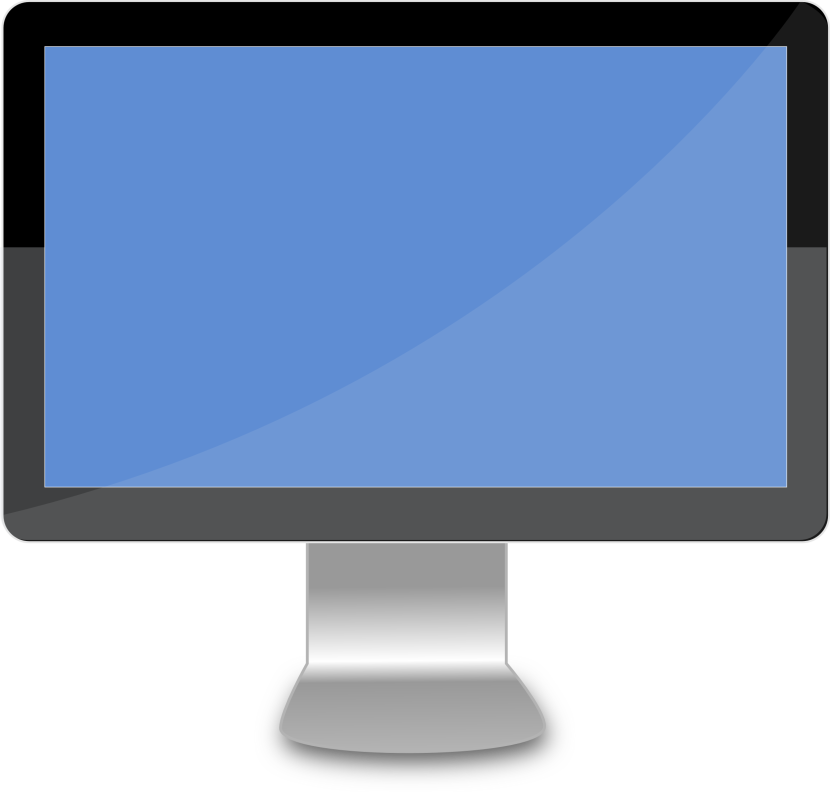 Screen clipart display Monitor com Computer Clipart Monitor