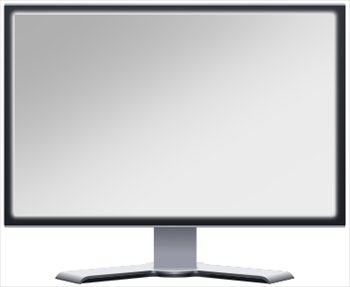 Display clipart lcd Clipart LCD blank Monitor