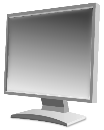 Display clipart lcd Pages Computer Clipart Monitor Clip
