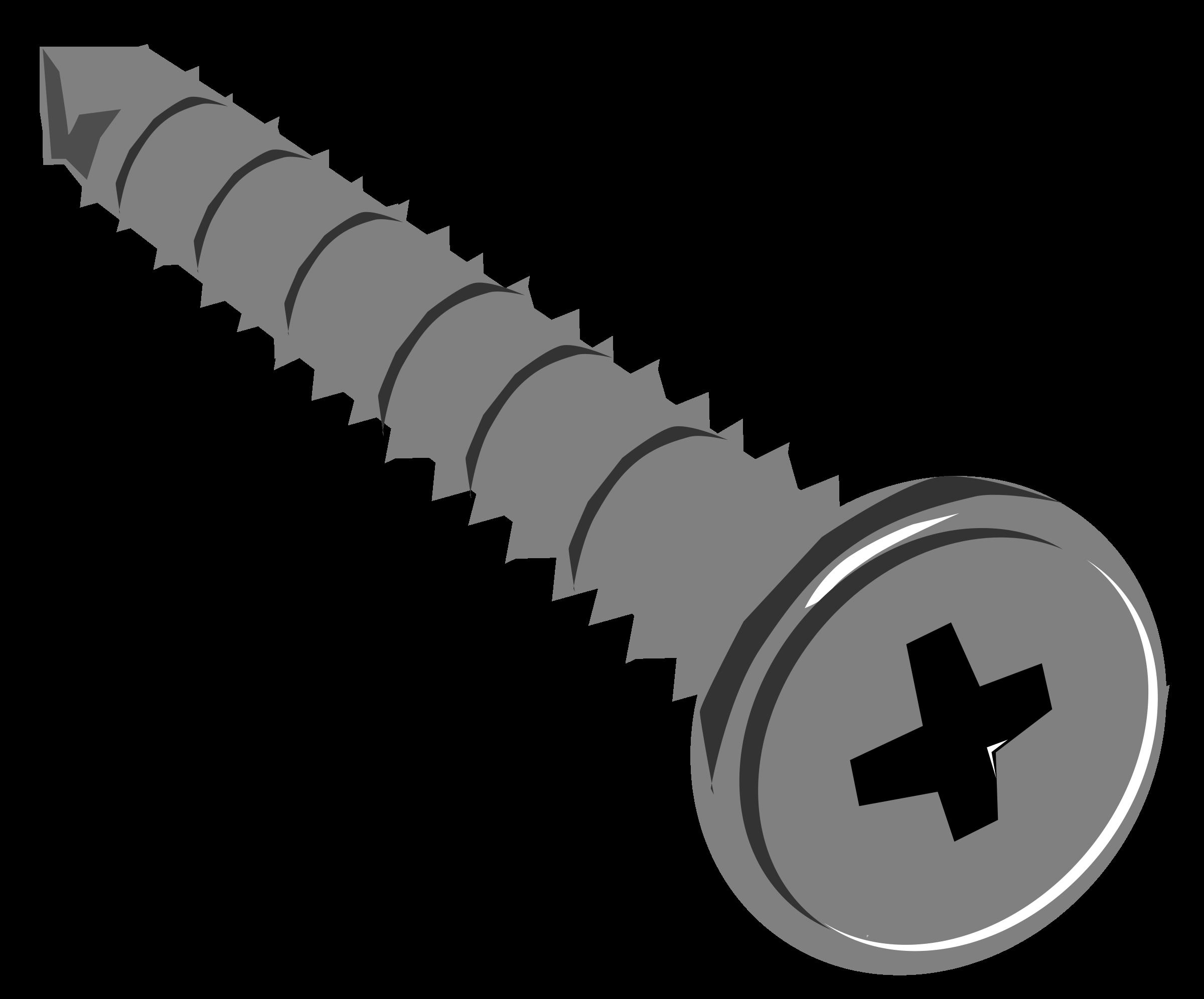 Screws clipart #12