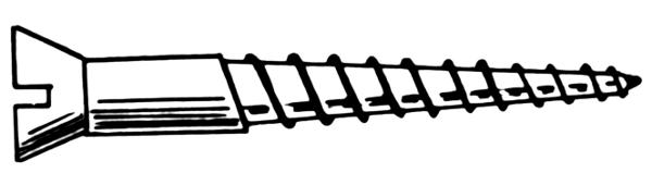 Screws clipart #8
