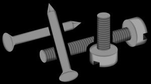 Screws clipart nails Cliparts Cliparts Screw Nails Zone