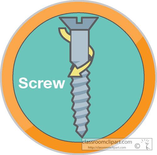 Screws clipart simple machine > For Simple Diagram Of