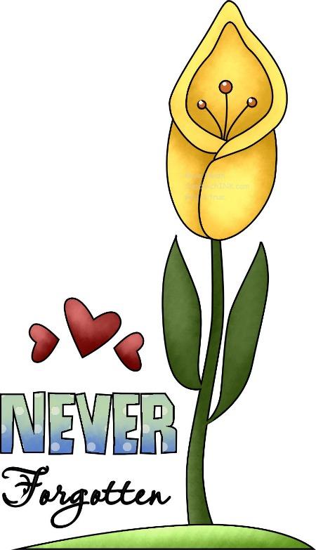 Tulip clipart religious #4