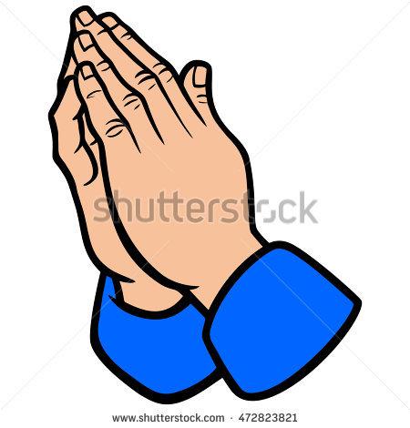 Scripture clipart praying hand #9