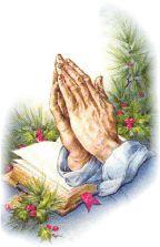 Scripture clipart praying hand #7