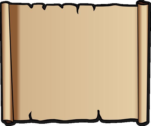 Scroll clipart #5