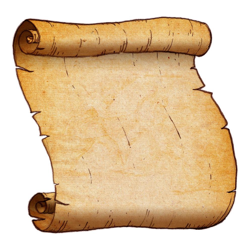 Scroll clipart #11