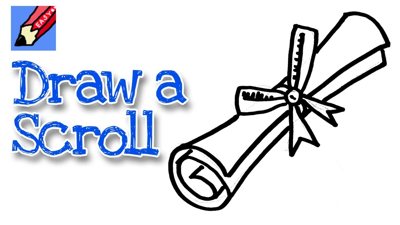 Scroll clipart draw Kids for for beginners kids