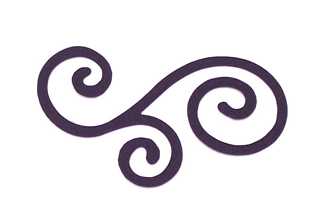 Celtic clipart scroll Fancy Art clipart Free