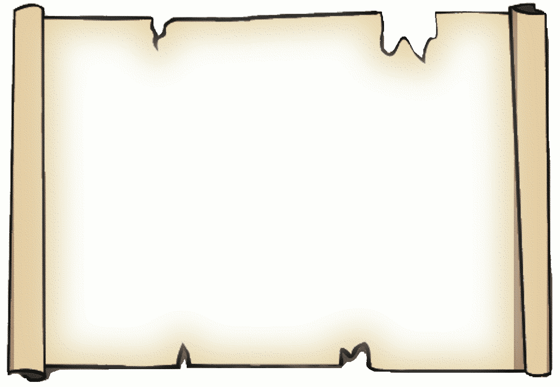 Scroll clipart parchment Parchment Parchment scroll Page