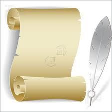Scroll clipart printable Prom Search rolled / scroll