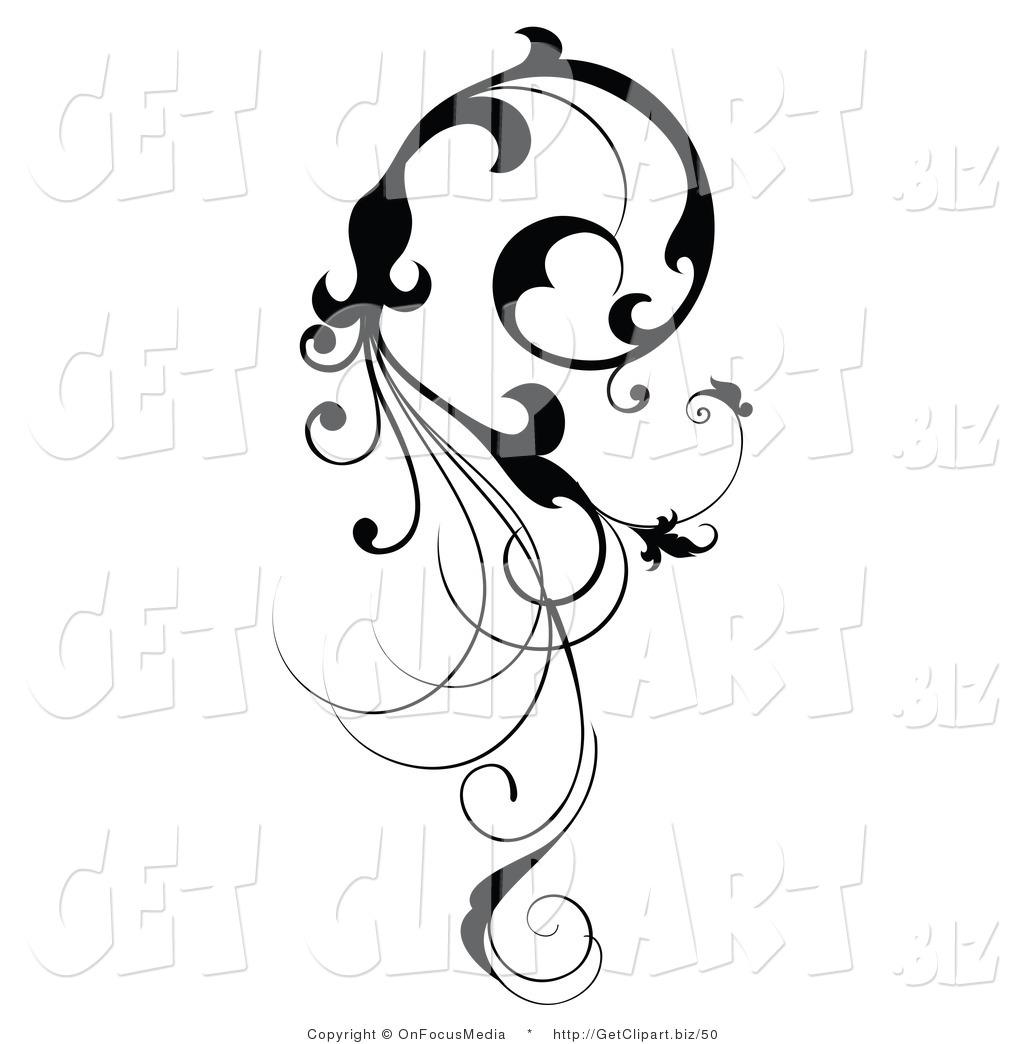 Scroll clipart vine Pinterest tattoo Google hand Search