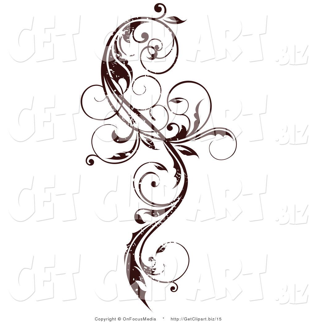 Scroll clipart vine Design Scroll Design design Vine