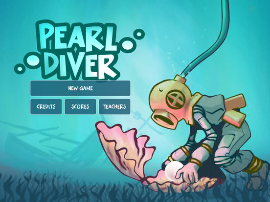 Diving clipart pearl diver App Screenshot on Diver the