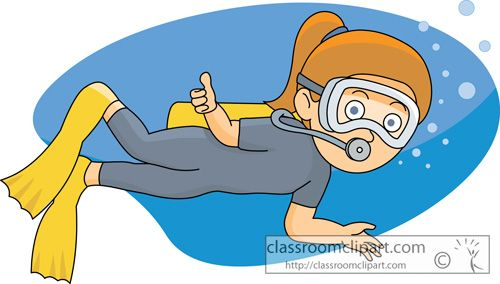 Scuba Diver clipart scuba gear #11