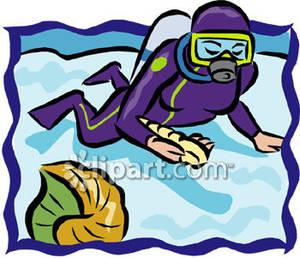 Scuba Diver clipart scuba gear #15
