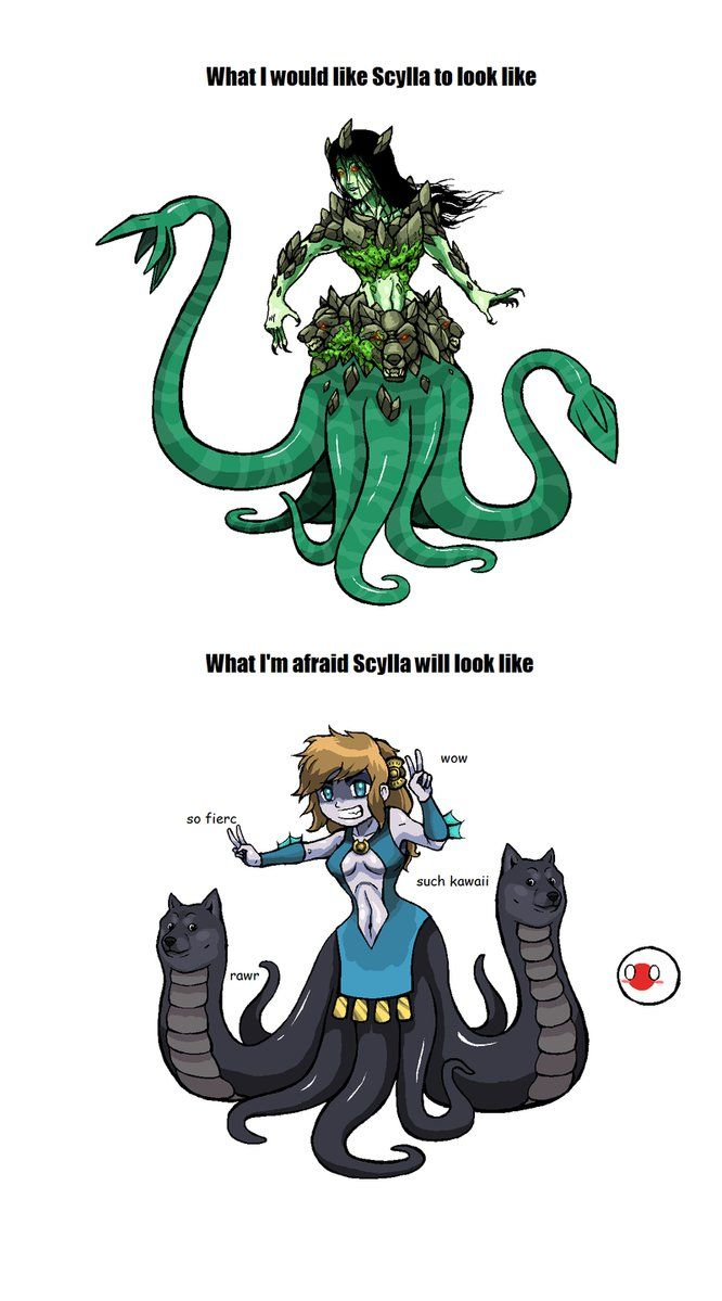 Scylla clipart Scylla on best about by