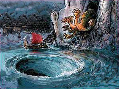 Scylla clipart  Scylla Act Celtic Odyssey