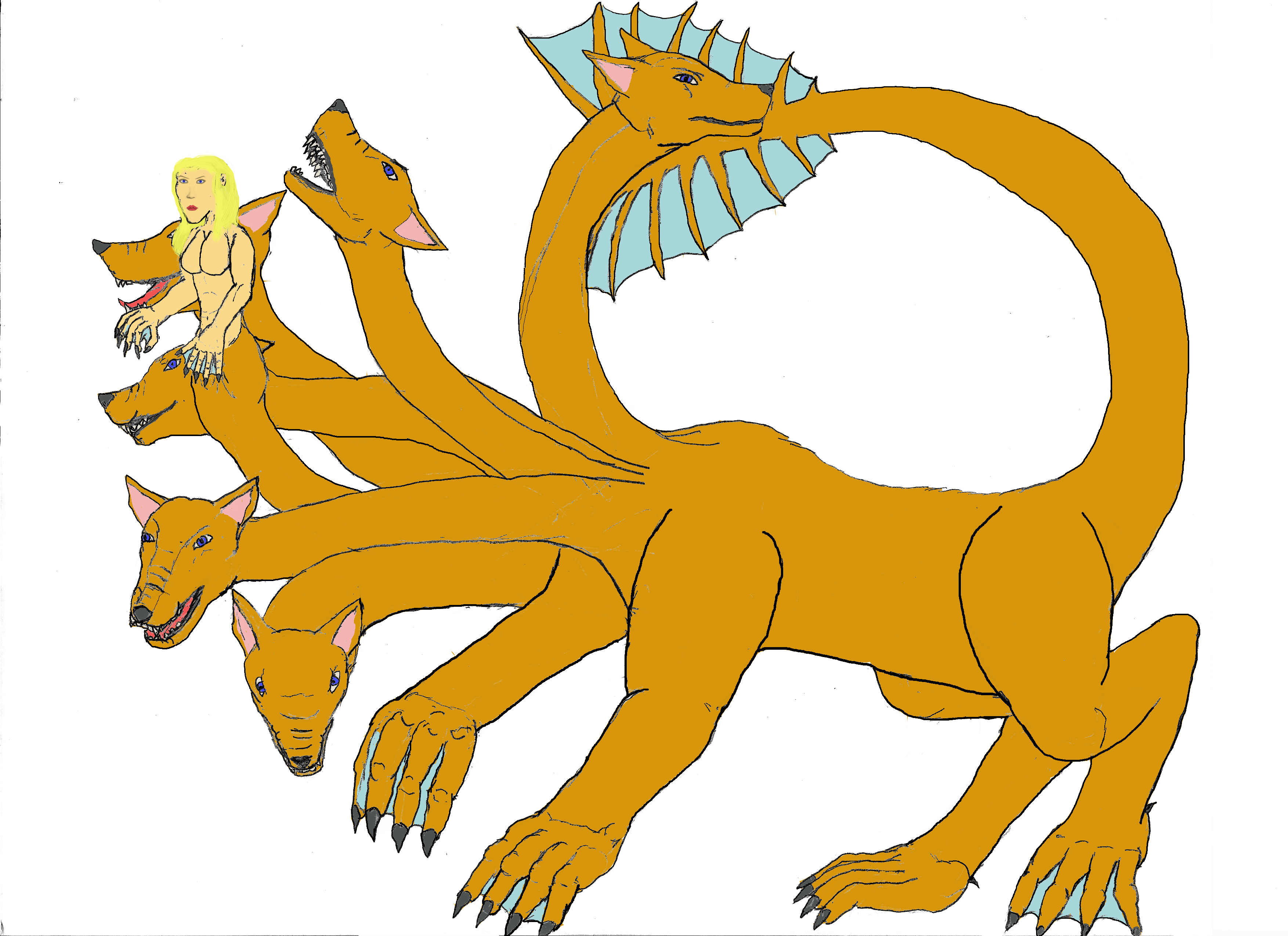 Scylla clipart  by on (female) Laboi
