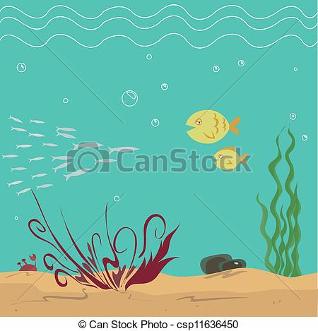 Sea Bed clipart Iluustration seabed and seabed