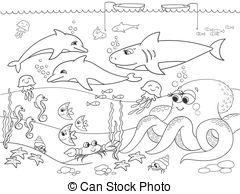 Sea Bed clipart sea bottom #4