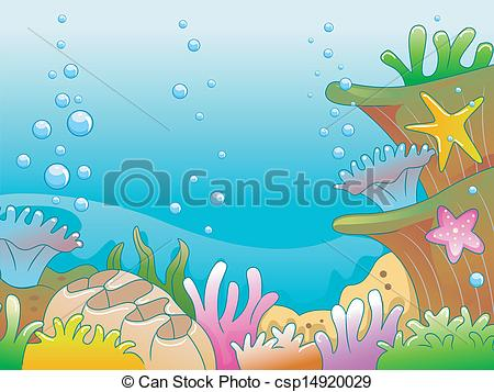 Sea Bed clipart underwate scene #5