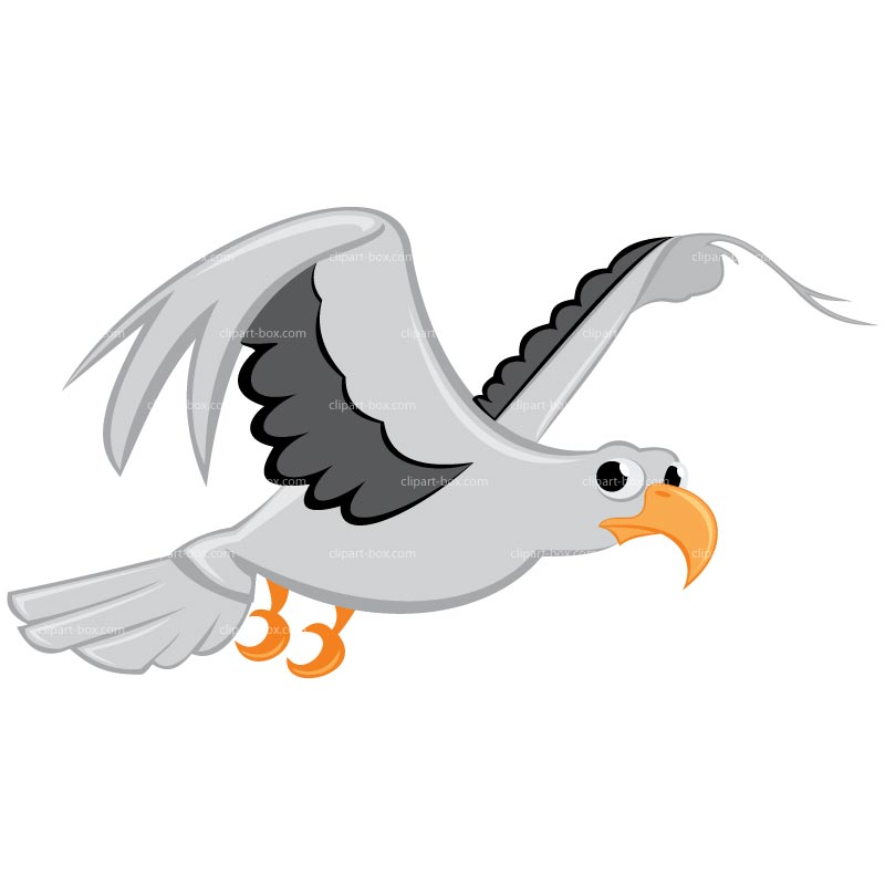 Sea Bird clipart Seagulls free ClipartBarn large images
