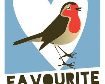 Sea Bird clipart robin #9