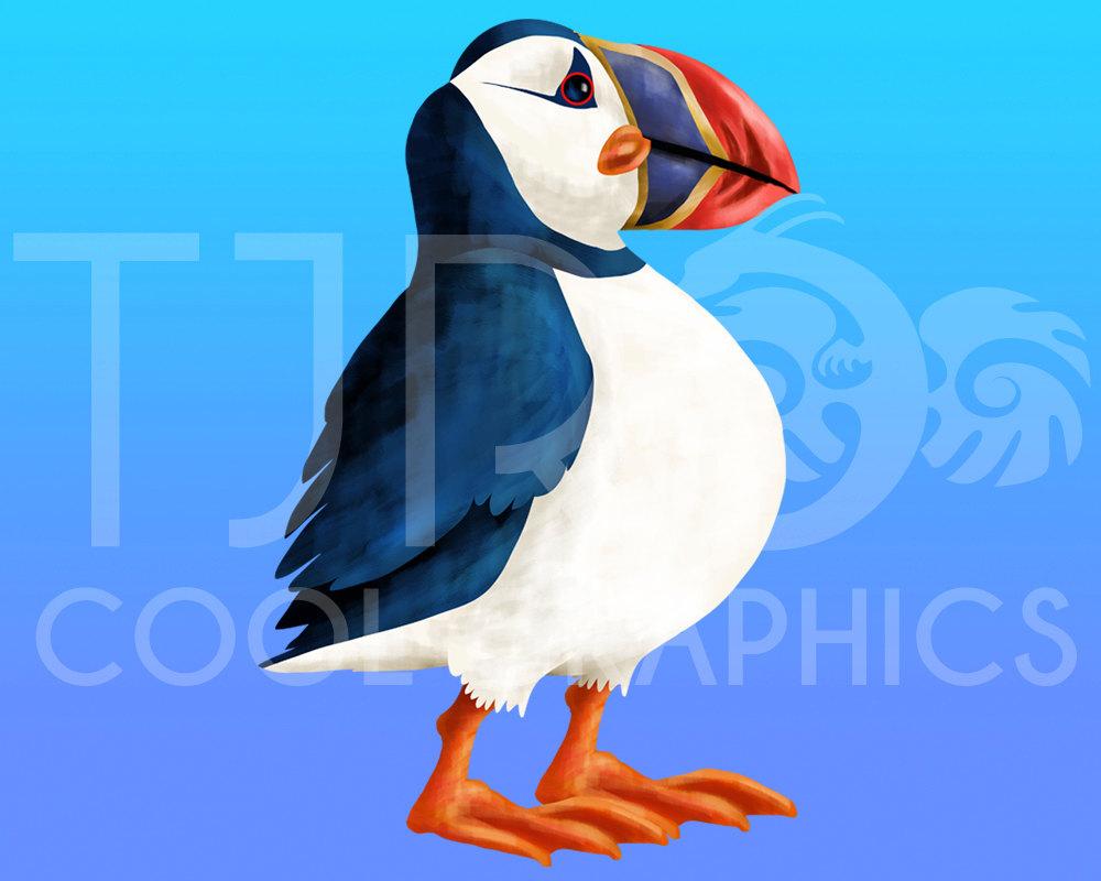 Sea Bird clipart robin #7
