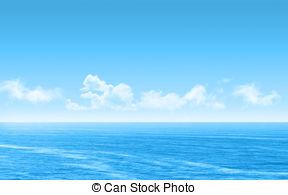 Sea clipart Sea with fluffy 30 landscape