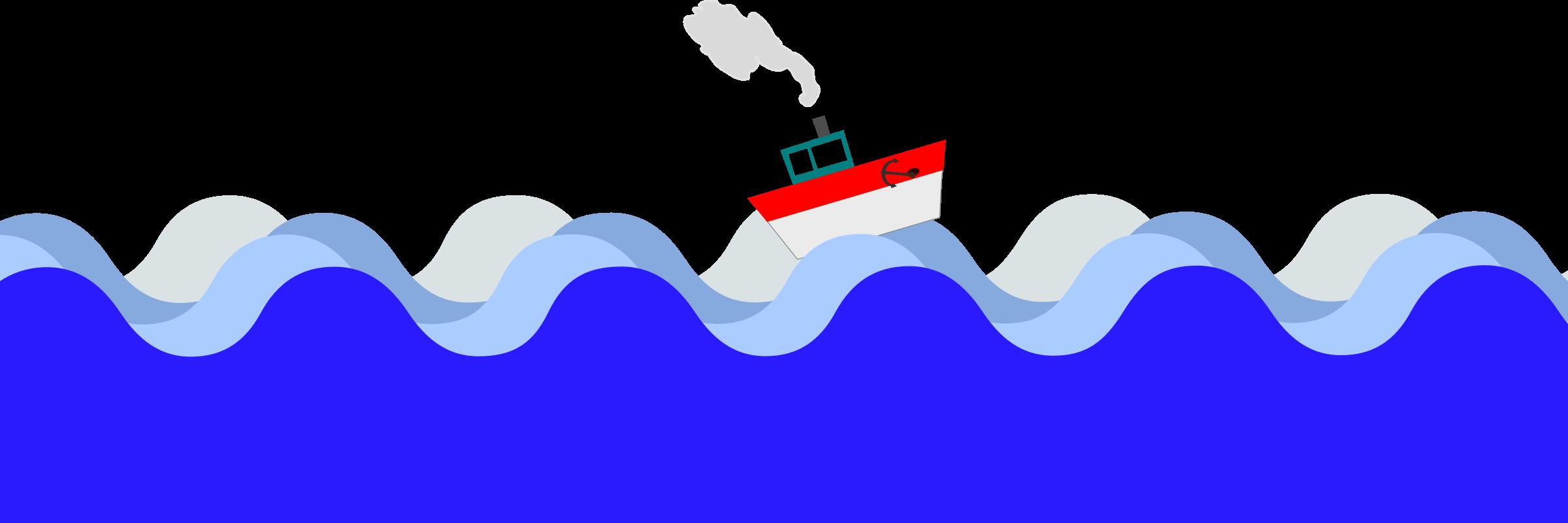 Sea clipart Sea sea Clipart boat at