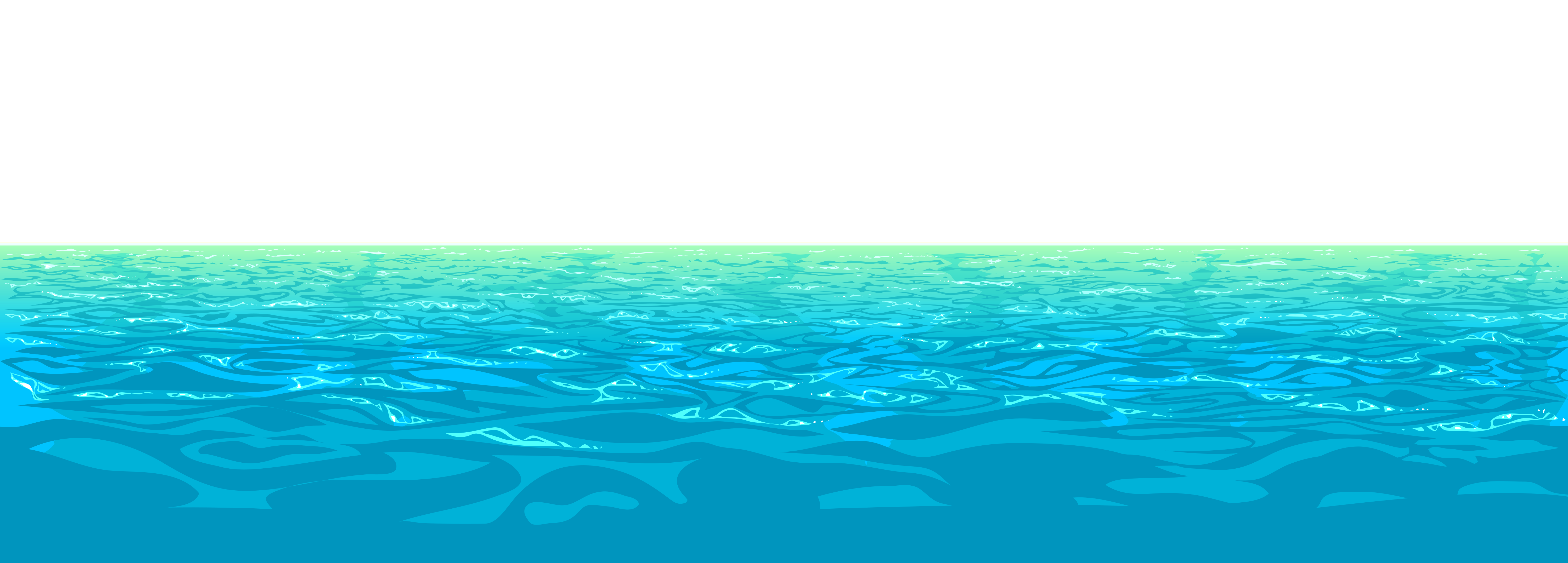 Ocean clipart transparent And Clipart Cliparts Ocean Blue