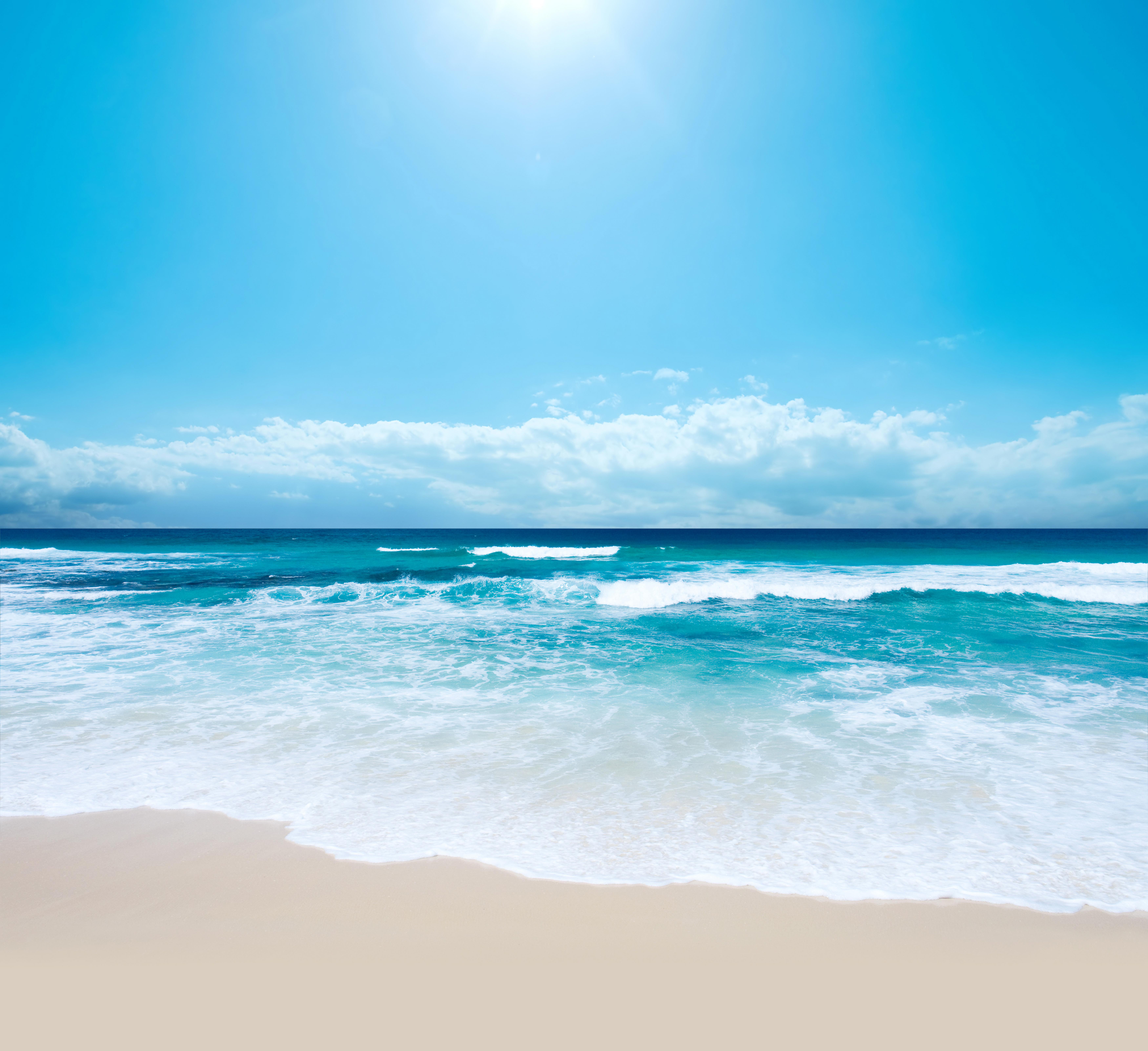 Sea clipart beach background #14