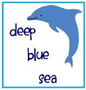Sea clipart blue sea #15