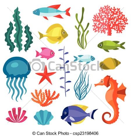 Sea clipart objects #5